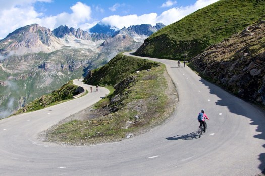 Col de l'Iseran - edited the sign out of photo